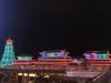 夜晚的風雨橋