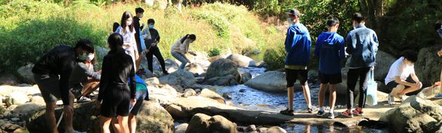 F5 Geography Field Study of Tai Po Lam Tsuen River