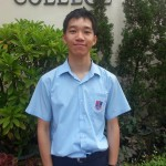 2014-06 Shatin Outstanding student award 5C Chang Man Hei Jeffrey