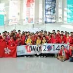 World Robot Olymmpiad Hong Kong Regional Selection 2014 GEN II Football-4